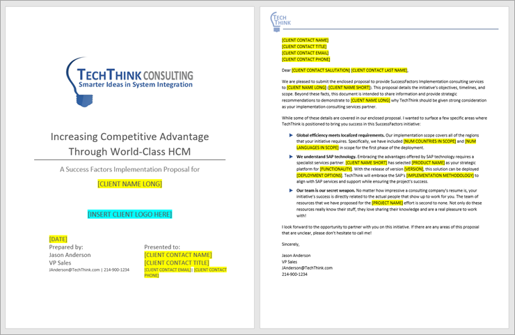 Best PDQs templates with cover pages, headers, footers, TOCs, section breaks, and other standard content.